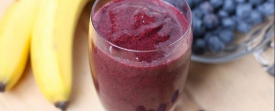 Banana Blueberry Smoothie